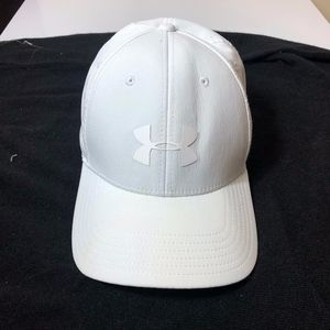 White Under Armour Hat